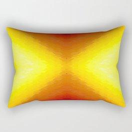 Sun Texture Pattern Rectangular Pillow