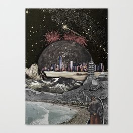 THE WAY TO GOLDEN Canvas Print