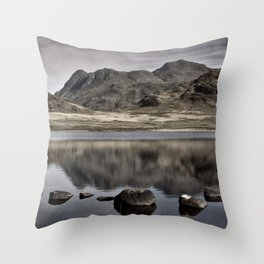 Early Morning at Blea Tarn Throw Pillow