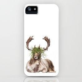 Derp Deer iPhone Case
