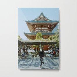 Sensō-ji Temple Tokyo Japan Metal Print