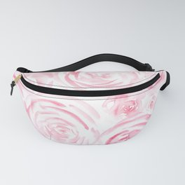 Watercolor pink roses pattern Fanny Pack
