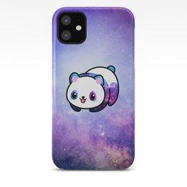Kawaii Galactic Mighty Panda iPhone Case