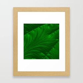 Renaissance Green Framed Art Print