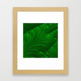 Renaissance Green Framed Art Print