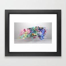 Colour Form & Expression #6 Framed Art Print