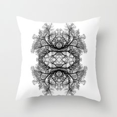 The wonderful world of trees. Throw Pillow