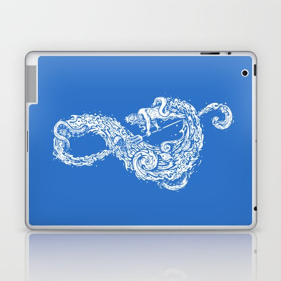 Sound of the Ocean Laptop & iPad Skin