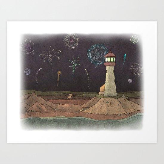 Lighthouse #8 Art Print