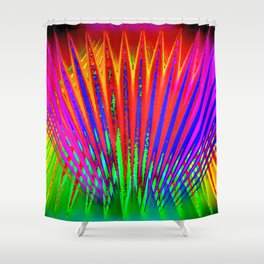 Feathers by light ... Shower Curtain