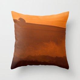 Fog 18 Throw Pillow