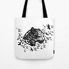 Forest leopard Tote Bag