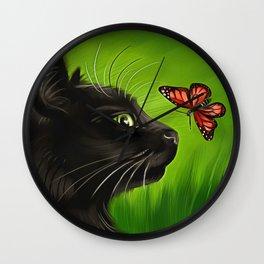 Kitty Kitty Wall Clock