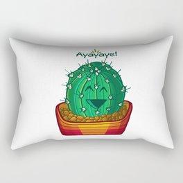 Ayayaye Cactus Ball Rectangular Pillow