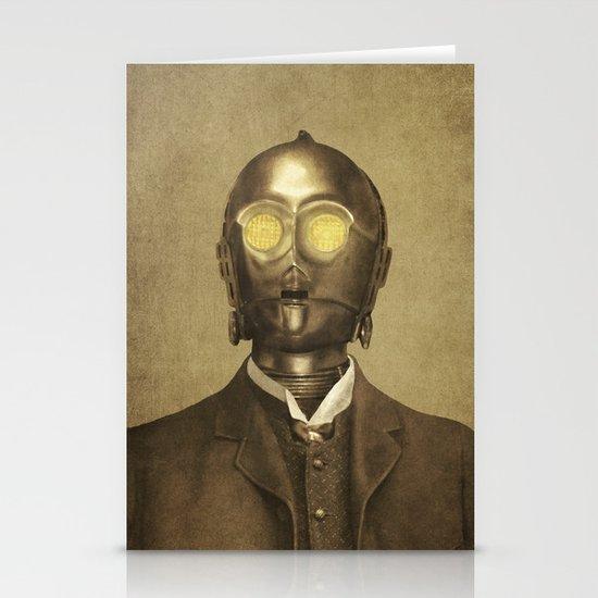 Baron Von Three PO  Stationery Cards