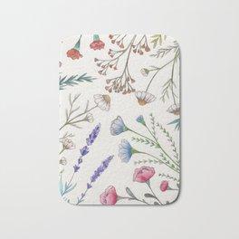 Fleur pattern Bath Mat