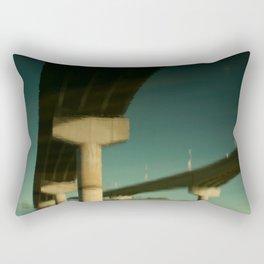 bridge reflection Rectangular Pillow