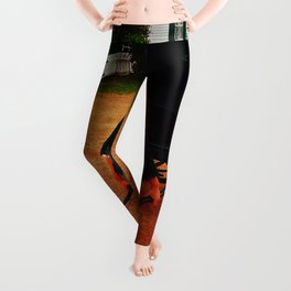 Anne of Green Gables Pulls the Carriage Leggings