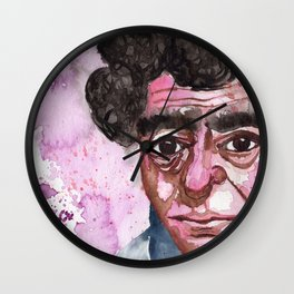 Face with no hope Wall Clock