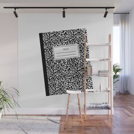 composition book Wall Mural