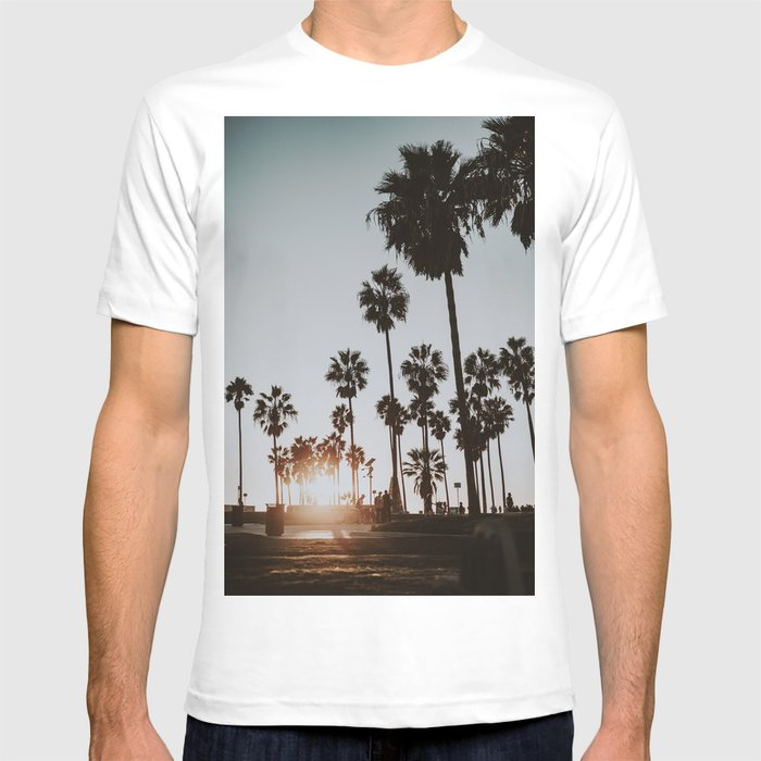 Palm Trees Vi Venice Beach California T Shirt