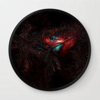 trip Wall Clocks featuring Trip by Fine2art