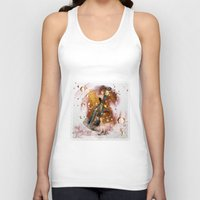 champagne Tank Tops featuring champagne by Nathalie56