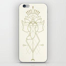 Elephant Ganesh Geometry iPhone Skin