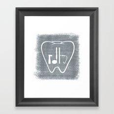 RDH Tooth Framed Art Print