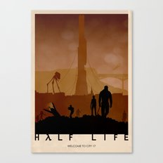 Half Life Canvas Print