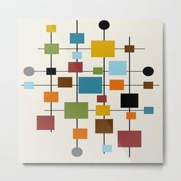 Mid-Century Modern Art 1.3 Metal Print
