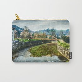 The river Sella and a bridge Carry-All Pouch
