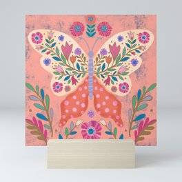 Blooming Butterfly Mini Art Print