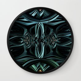 Tranquil Arches Wall Clock