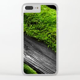 Deadfall Adornment Clear iPhone Case