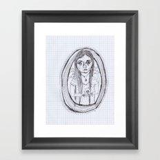 vanessahhhhhh Framed Art Print