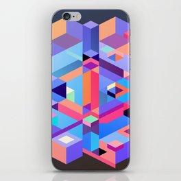 Cubic Inversion II iPhone Skin