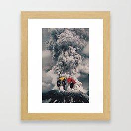 After School Framed Art Print