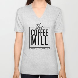 The Coffee Mill Unisex V-Neck