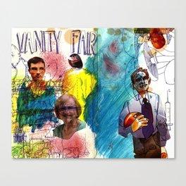 Magazine cover Canvas Print