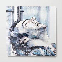 Aidan Turner 5. Metal Print