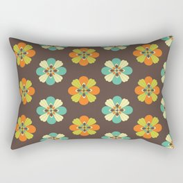 Retro Flower 301 Rectangular Pillow