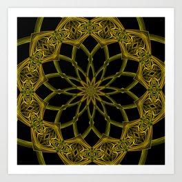 Kaleidoscope 'RK3 SQ' Art Print