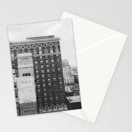 Black & White Brick & Mortar Stationery Cards