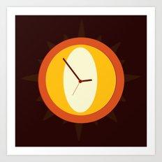 O Clock o'clock Art Print