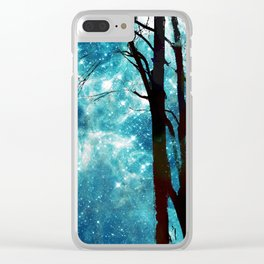 Night Sky Clear iPhone Case