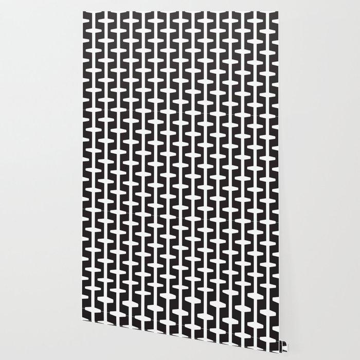 Geometric Pattern 207 Black White Wallpaper By Garyandrewclarke