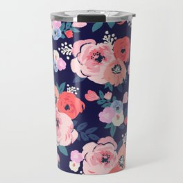 Aurora Floral Travel Mug