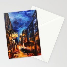 """Leaving New York"" Painting Stationery Cards"
