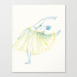 A Ballerina Canvas Print